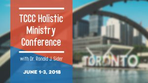 TCCC Holistic Ministry Conference @ Toronto Christian Community Church
